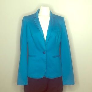 The Limited Teal blazer jacket * small* GUC